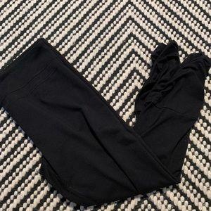 Black CABI Ruched Leggings